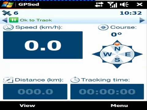 GPSed gps tracking and mapping software for Windows Mobile Preview