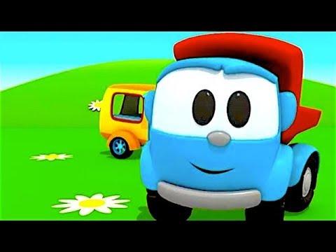Leo el Pequeño Camión - Carritos para niños - Pequeño Leo - Leo y la Caravana