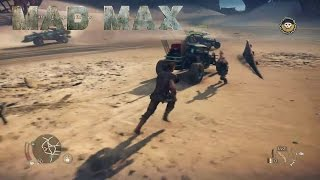 Mad Max - Open World Gameplay (PlayStation 4/Xbox One/PC)