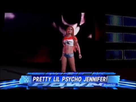 WWE 2K17  Jennifer Warren 'Pretty Little Psycho'  Attire case