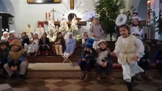 Jasełka podczas Mszy Świętej