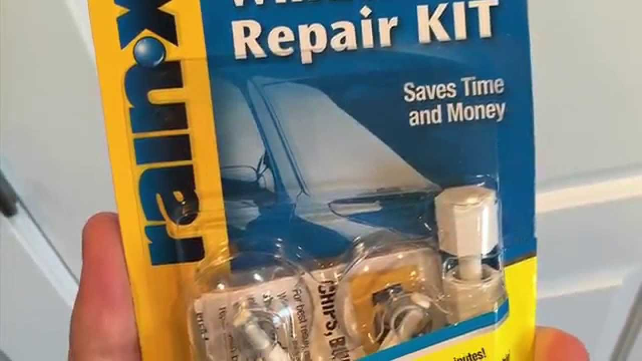 Windshield Repair Kit >> Rain X Windshield Repair Kit Review And How To Video