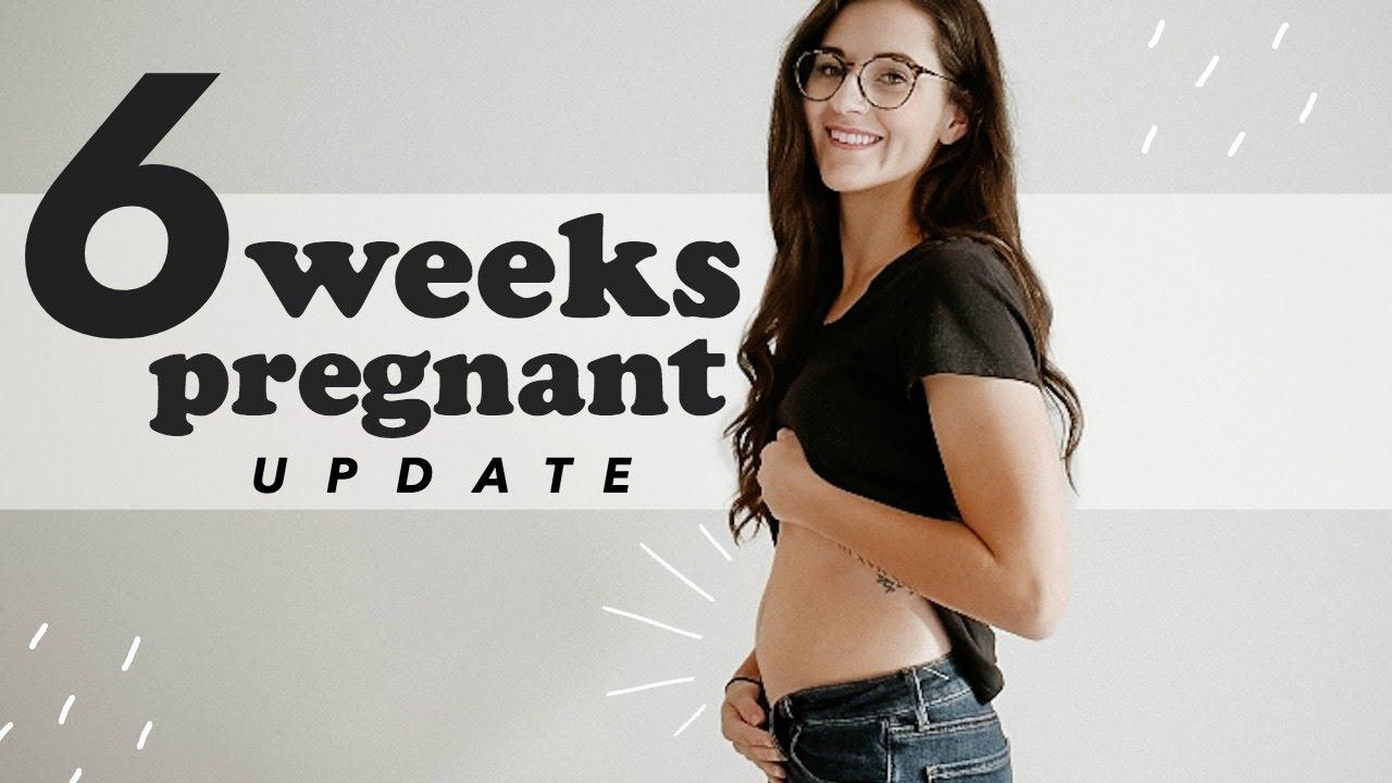 6 WEEK PREGNANCY UPDATE | Symptoms, Belly Shot + Life Changes | BABY #3