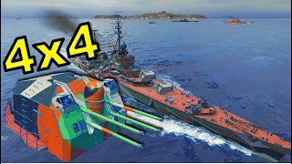 X Smolensk - 415K Damage - World of Warships