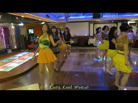 Long Cool Woman Line Dance(By Kaohsiung All-Star Line Dancers)
