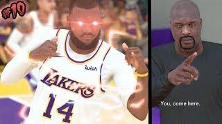 NBA 2k19 MyCAREER - NEW CAREER HIGH! 1st Game Starting! Meeting Shaq! Ep. 10