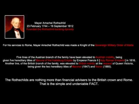 Rothschilds - Jesuit Bankers of Rome - Vatican NWO