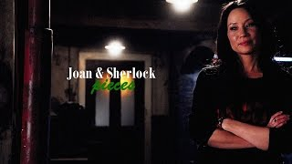 Joan & Sherlock - Pieces