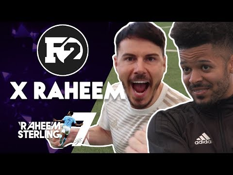 F2 FREESTYLERS! | BEHIND THE SCENES | Raheem Sterling takes on The F2