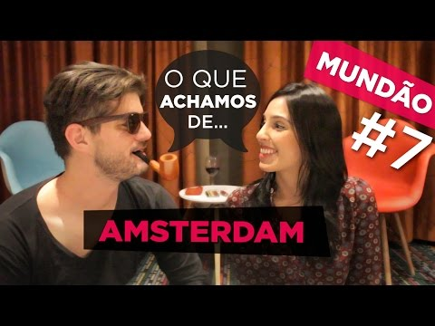 TOP 5 AMSTERDAM! O que achamos da cidade [ENGLISH SUB]
