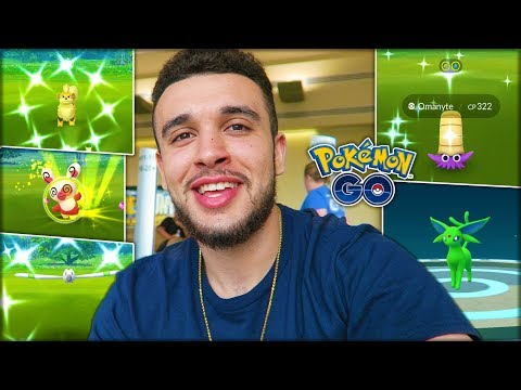 CATCHING NEW SHINY POKÉMON! CRAZY RESEARCH LUCK! (Pokémon GO)