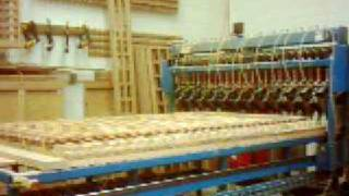 Wood Square Lattice Panel Production Machine