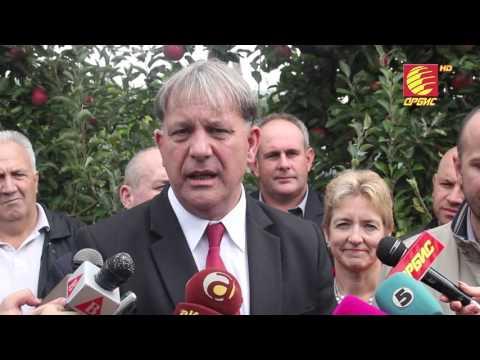 TV ORBIS - ZAPOCNA BERBATA NA JABOLKATA VO PRESPA 28.09.2015