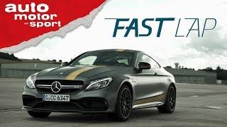 Mercedes AMG C63 S Coupé: gelb-graues Biest - Fast Lap   auto motor und sport