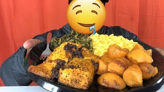 Soul Food Mukbang! *Pescetarian