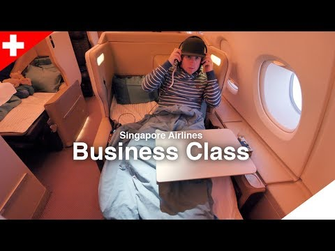 Singapore Airlines Business Class - A380 - Traum wird wahr!