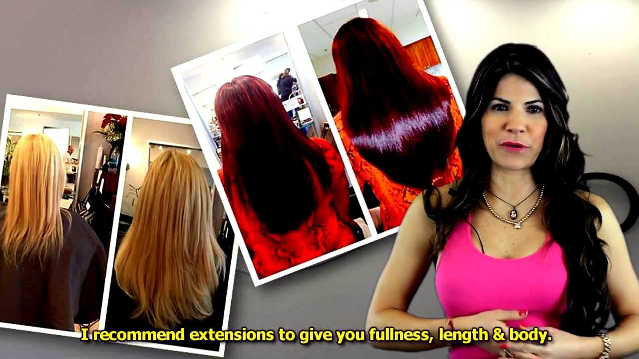 Are Hair Extensions Comfortable At Salon Chenzo Boca Raton Youtube