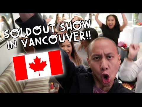 MY SOLD OUT SHOW IN VANCOUVER!   Vlog #74