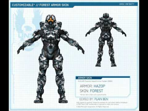 Halo 4 Armor, Skins, & Emblems Pre-order Guide! OFFICIAL