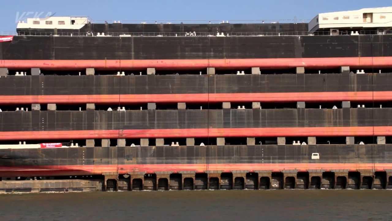 Amazing ship transport VEKA / Blue Marlin (part 2) - YouTube