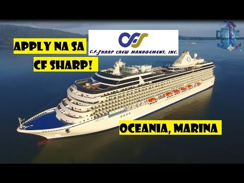 APPLY NA SA OCEANIA CRUISE SHIP by CF SHARP Agency!