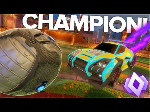 I GOT CHAMPION! - Rocket League Doubles