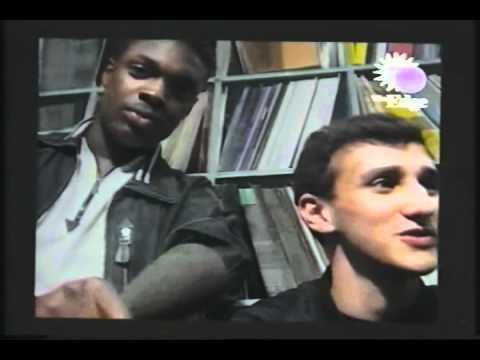 Parks & Wilson in Eastern Bloc Records Manchester (July 92) taken from Edge Video Magazine Issue 2