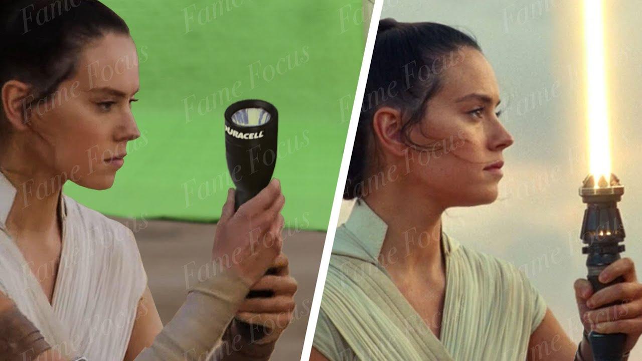 """Before & After Breakdown of CGI Behind """"Rise of Skywalker"""""""