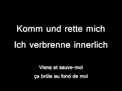 Tokio Hotel - Rette Mich Lyric & Traduction