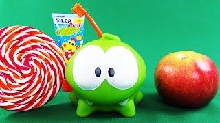 ✿ Ам Ням - Новое приключение: Кушай кашу и Чисти зубы (полезное видео для детей)