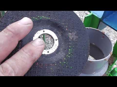 Simple briquette press