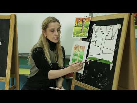 Занятие для детей по рисованию №2 | Онлайн детский клуб «Лас-Мамас»