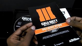 Call of Duty Black Ops 3 (Pc) Unboxing and installation (Full HD)