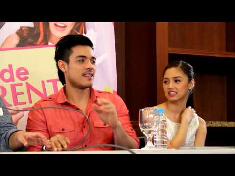 Kim Chiu and Xian Lim talk about 'weddings' in