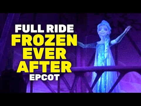 """NEW """"Frozen Ever After"""" full ride POV at Epcot Norway, Walt Disney World"""
