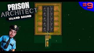 ILHA DE SEGURANÇA SUPER MÁXIMA!  ? - PRISON ARCHITECT #9 - (Gameplay/PC/PTBR) HD