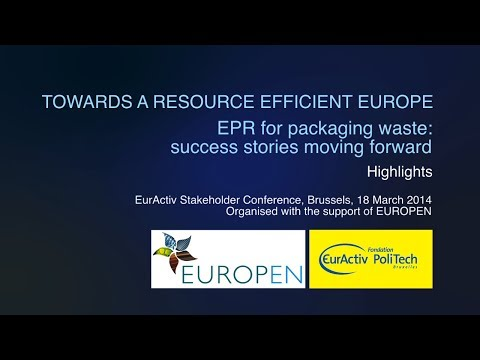 Towards a Resource Efficient Europe - EPR for packaging waste