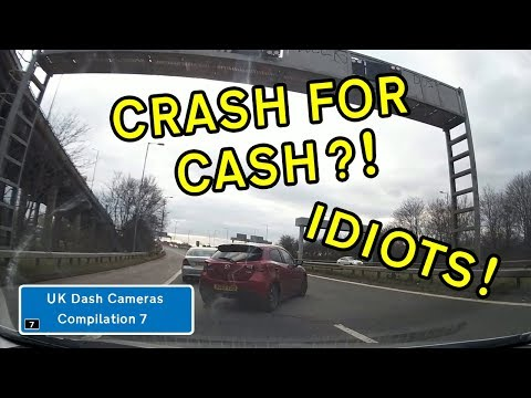 UK Dash Cameras - Compilation 7 - 2018 Bad Drivers, Crashes + Close Calls