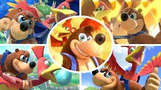 Banjo Kazooie Move Set, Final Smash, Animations & more in Smash Bros Ultimate