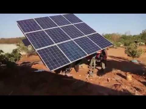 Solar Green Energy(Cambodia)-Solar water pump 2Hp