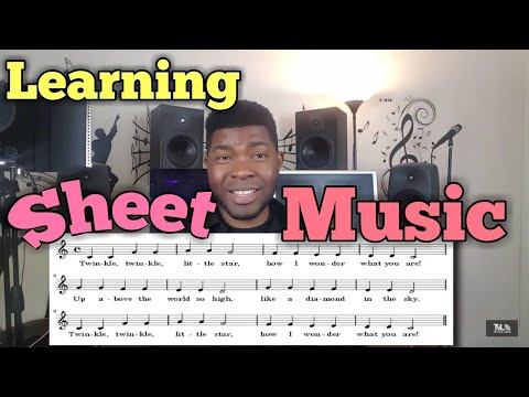 HOW TO READ SHEET MUSIC   Music Theory- Singing Lessons