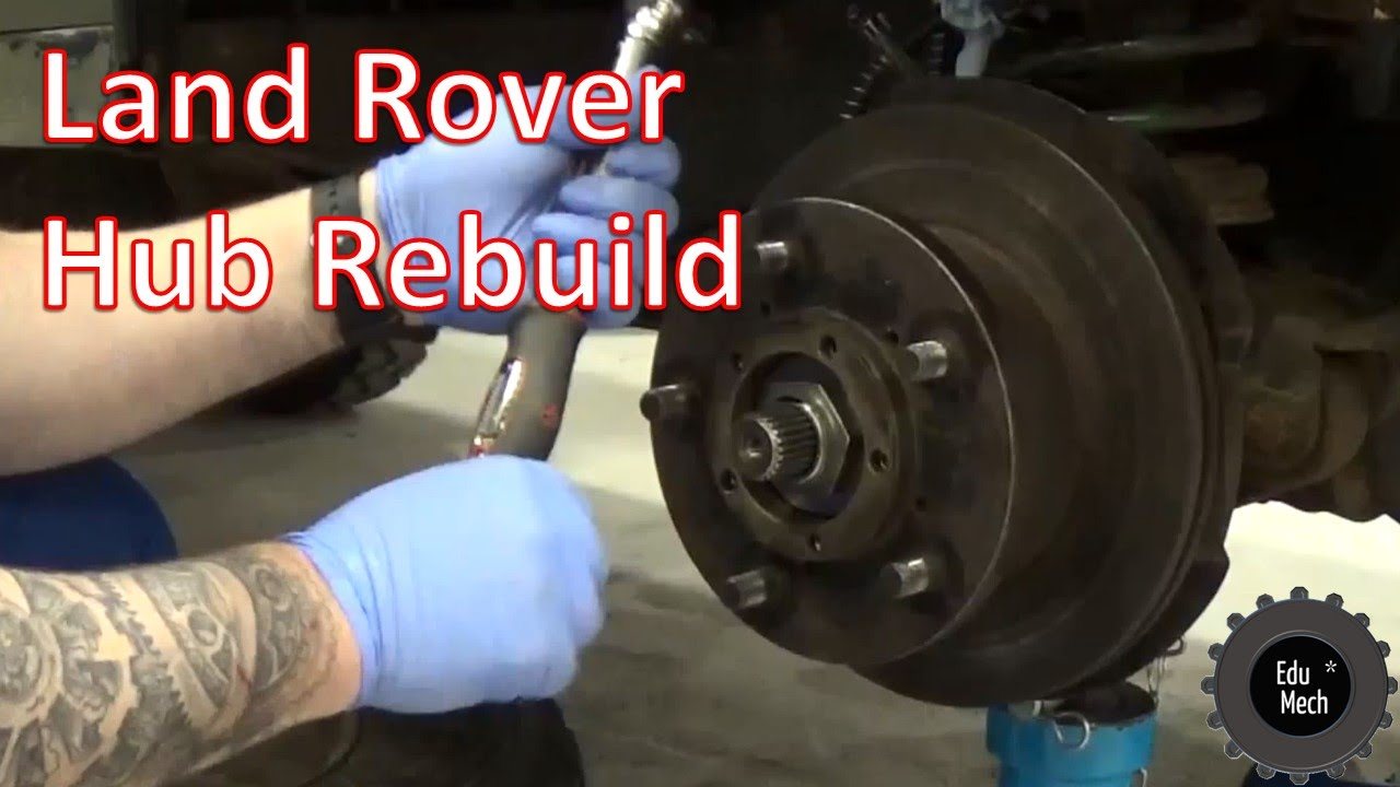 Land Rover Discovery 2016 >> Front Hub Rebuild, Land Rover Defender, 1998 onwards (90 ...