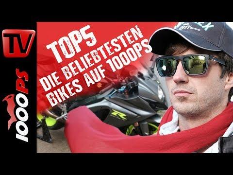 Top 5 - Die beliebtesten Bikes auf 1000PS