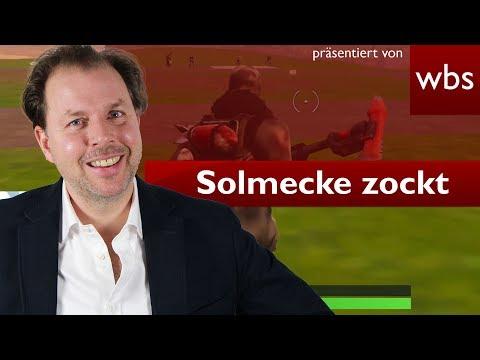 Solmecke zockt Fortnite – Als N00b abgerockt? | Rechtsanwalt Christian Solmecke