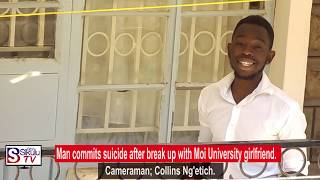 29-Year-old man commits suicide after break up with Moi University girlfriend