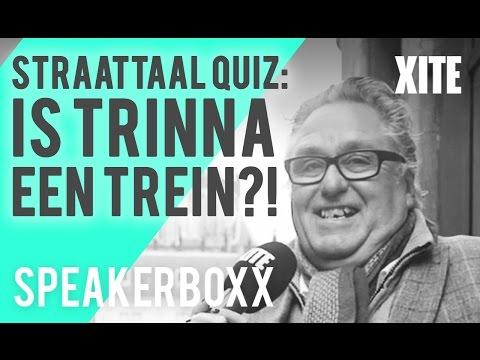 WASTEMAN, BARKIE & TRINNA?! TEST JE STRAATTAAL KENNIS! | SPEAKERBOXX #32