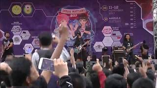 Henohenomoheji performing Kana Boon's Silhouette at Jiyuu Matsuri 2017 at Universitas Negeri Jakarta. The audio was mixed with a live recording and the ...