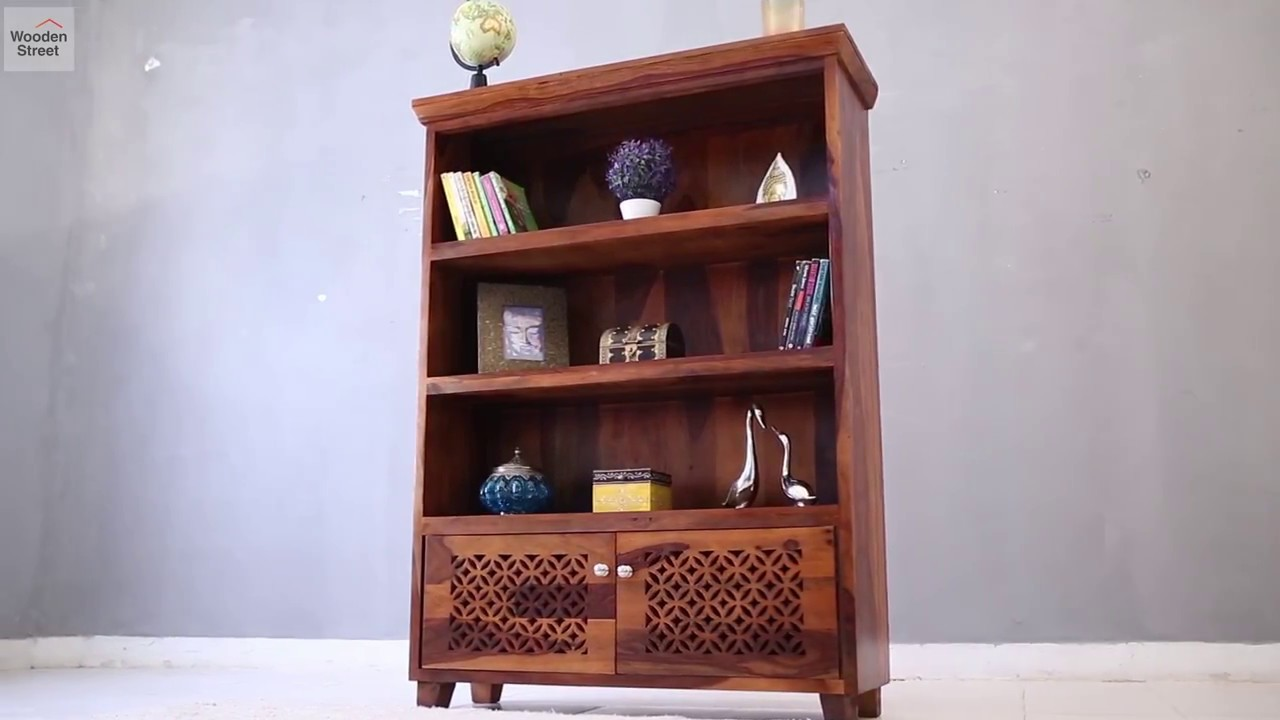 Bookshelf Shop Cambrey In Honey Finish Online From Wooden Street