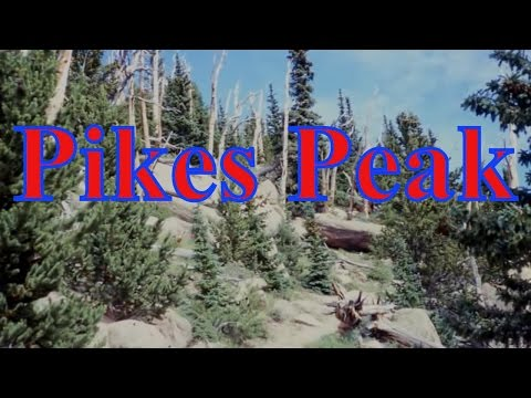 Visiting Pikes Peak, Summit in the United States of America