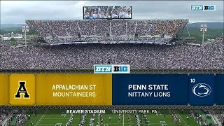 2018-09-01 Appalachian State Mountaineers vs Penn State Nittany Lions